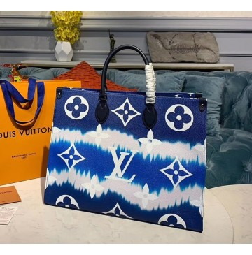 Louis Vuitton Escale Onthego GM Blue M45120