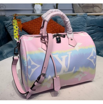 Louis Vuitton Escale Speedy Bandouliere 30 Pastel M45123