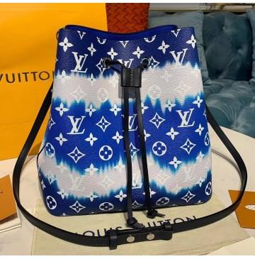 Louis Vuitton Escale Neonoe MM Blue M45126