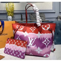 Louis Vuitton Escale Neverfull MM Red M45127