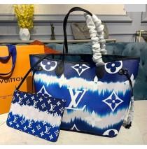 Louis Vuitton Escale Neverfull MM Blue M45128