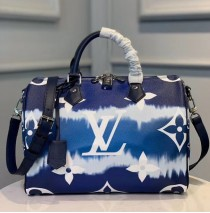 Louis Vuitton Escale Speedy Bandouliere 30 Blue M45146