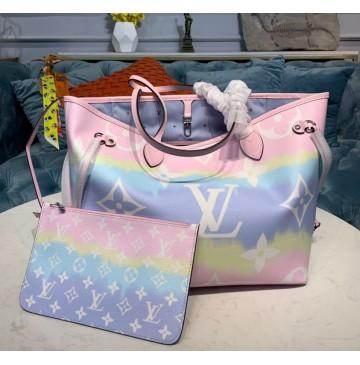 Louis Vuitton Escale Neverfull MM Pastel M45270