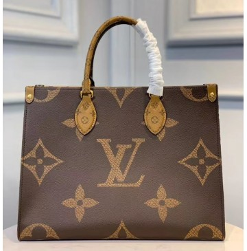 Louis Vuitton Monogram Giant Cavnas Onthego MM M45321