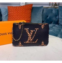 Louis Vuitton Monogram Giant Pochette Double Zip M67874