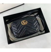 Gucci GG Marmont Matelasse Mini Bag GU448065A-black