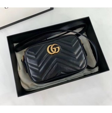 Gucci GG Marmont Matelasse Mini Bag GU448065A-black