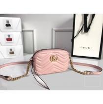 Gucci GG Marmont Matelasse Mini Bag GU448065A-pink