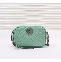 Gucci GG Marmont Matelasse Mini Bag GU448065B-green