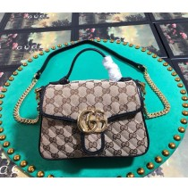 Gucci GG Marmont Mini Top Handle Bag GU547260C-black
