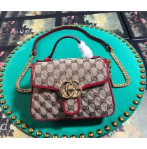Gucci GG Marmont Mini Top Handle Bag GU547260C-red