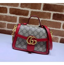 Gucci GG Marmont Mini Top Handle Bag GU547260CA-red
