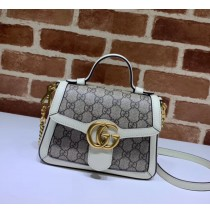 Gucci GG Marmont Mini Top Handle Bag GU547260CA-white