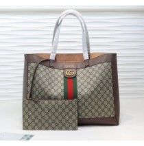 Gucci Ophidia soft GG Supreme medium tote GU547947C-brown