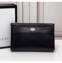 Gucci Pouch with Interlocking G GU575991-black