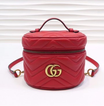Gucci GG Marmont Mini Backpack GU598594-red