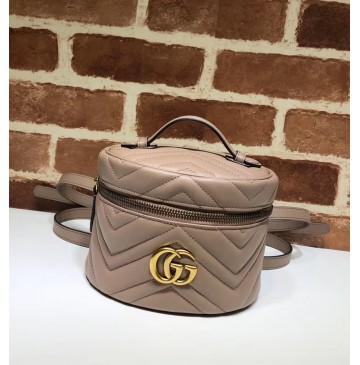 Gucci GG Marmont Mini Backpack GU598594-tan