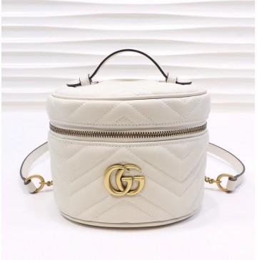 Gucci GG Marmont Mini Backpack GU598594-white