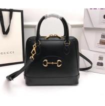 Gucci Horsebit 1955 Small Top Handle Bag GU621220L-black