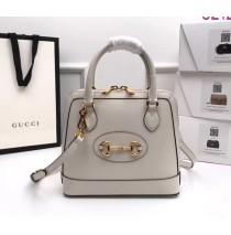 Gucci Horsebit 1955 Small Top Handle Bag GU621220L-white