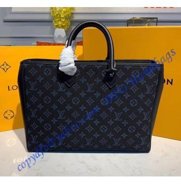 Louis Vuitton Monogram Cobalt Blue Grand Sac M55203