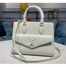 Louis Vuitton Lockme Tote PM White M55817