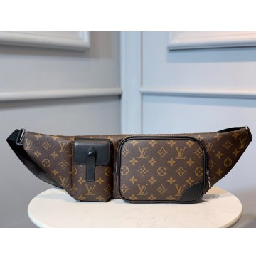 Louis Vuitton Monogram Macassar Christopher Bumbag M45337