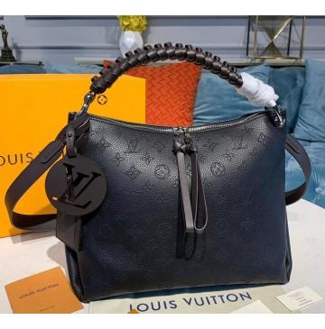 Louis Vuitton Mahina Beaubourg Hobo MM M56073-black