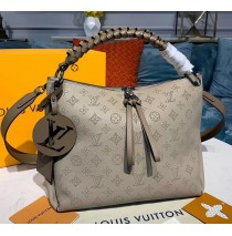 Louis Vuitton Mahina Beaubourg Hobo MM M56073-tan