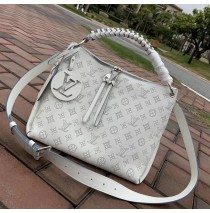 Louis Vuitton Mahina Beaubourg Hobo MM M56073-white