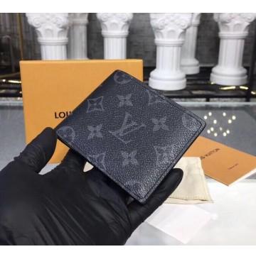 Louis Vuitton Monogram Eclipse Slender Wallet M62294