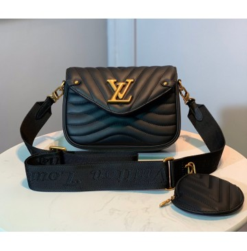 Louis Vuitton New Wave Multi-Pochette M56466-black