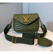 Louis Vuitton New Wave Multi-Pochette M56466-green