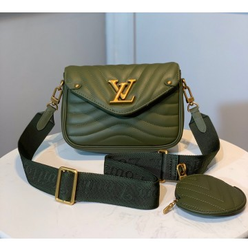Louis Vuitton New Wave Multi-Pochette M56466-green