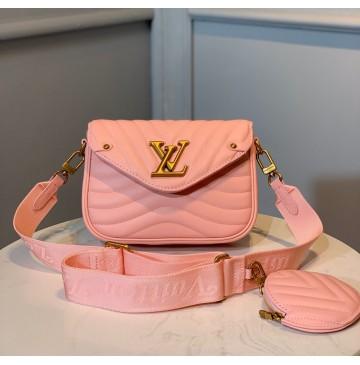 Louis Vuitton New Wave Multi-Pochette M56466-pink
