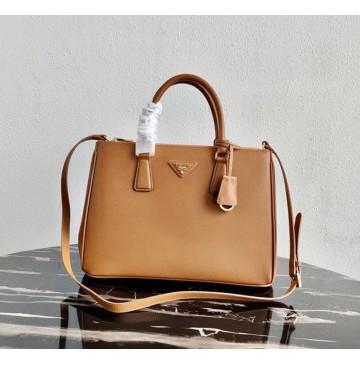 Prada Saffiano Leather Tote PD2274-camel
