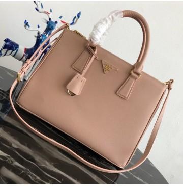 Prada Saffiano Leather Tote PD2274-light-pink