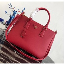 Prada Saffiano Leather Tote PD2274-red