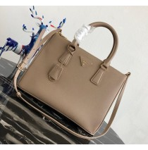 Prada Saffiano Leather Tote PD2274-tan