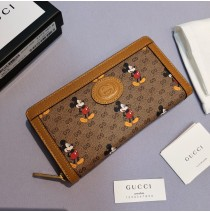 Gucci x Disney zip around wallet GU-W602532