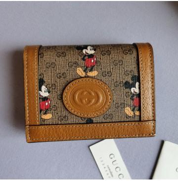 Gucci x Disney card case wallet GU-W602534
