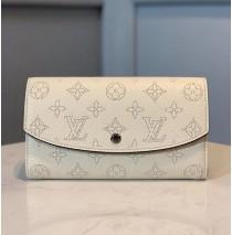 Louis Vuitton Mahina Leather Iris Wallet M60145-beige