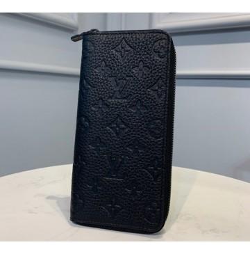 Louis Vuitton Taurillon Leather Zippy Vertical Wallet M69047