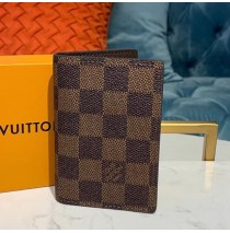 Louis Vuitton Damier Ebene Pocket Organizer N63143