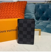 Louis Vuitton Damier Graphite Pocket Organizer N63145