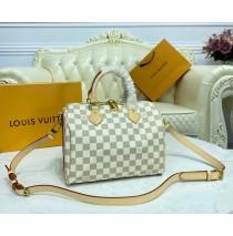 Louis Vuitton Damier Azur Speedy Bandouliere 25 N41000