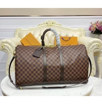 Louis Vuitton Damier Ebene Keepall 55 N41414