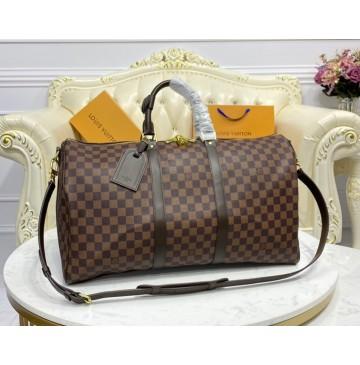 Louis Vuitton Damier Ebene Keepall 50 N41416
