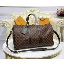 Louis Vuitton Damier Ebene Keepall 45 N41428