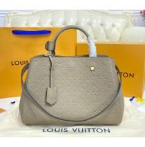 Louis Vuitton Monogram Empreinte Montaigne MM M41048-gray